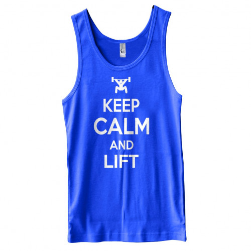 Keep Calm and Lift Tank