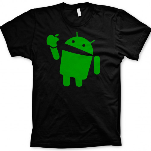Android Eats Apple T-Shirt