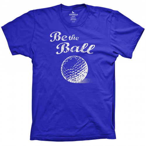 Be the Ball golf shirt