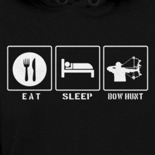 Eat Sleep Bow Hunt Hoodie
