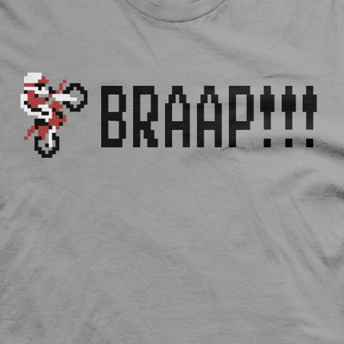 BRAAP Excitebike shirt