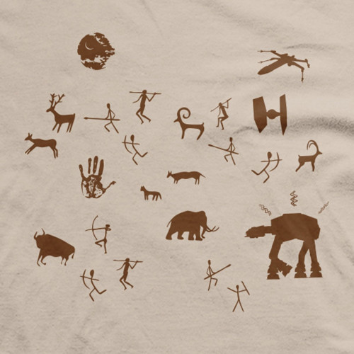 Star Wars Cave Paintings