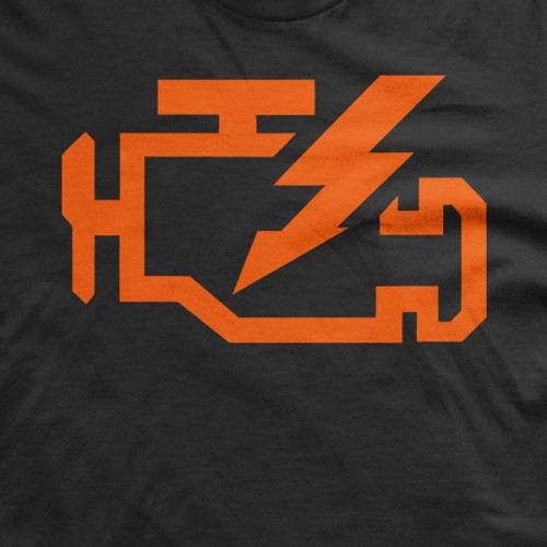 VW Check Engine Light T-Shirt
