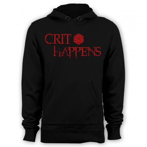 Crit Happens Hoodie