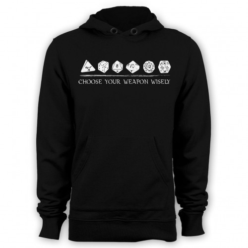 Choose Weapon DnD Hoodie