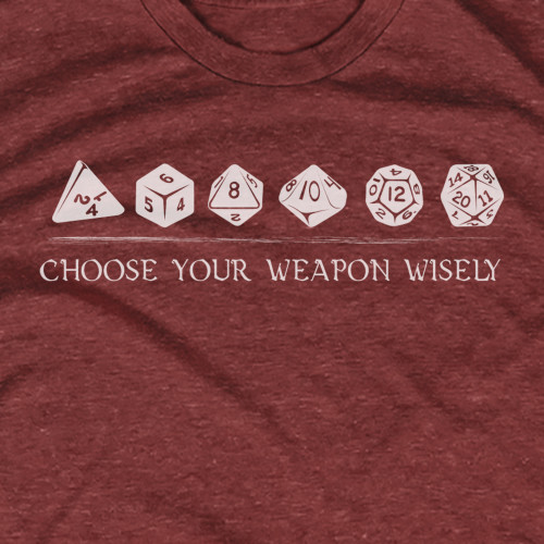 Choose Your Weapon DnD