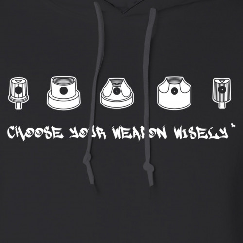 Choose Your Weapon Graffiti Hoodie