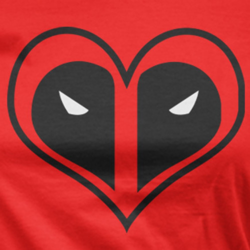 Deadpool Heart