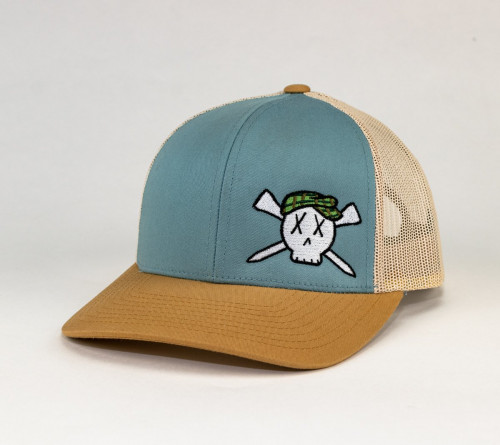Golf Skull Hat