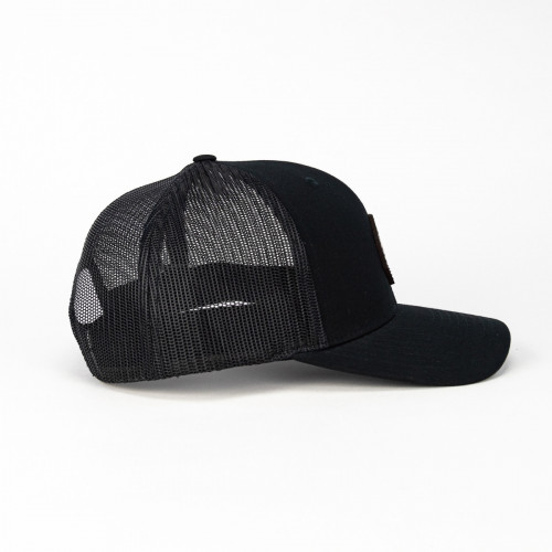 Red Leather D20 Atom Hat