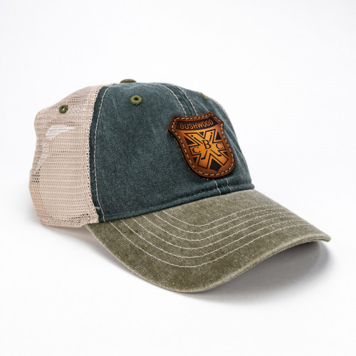Leather Bushwood Hat