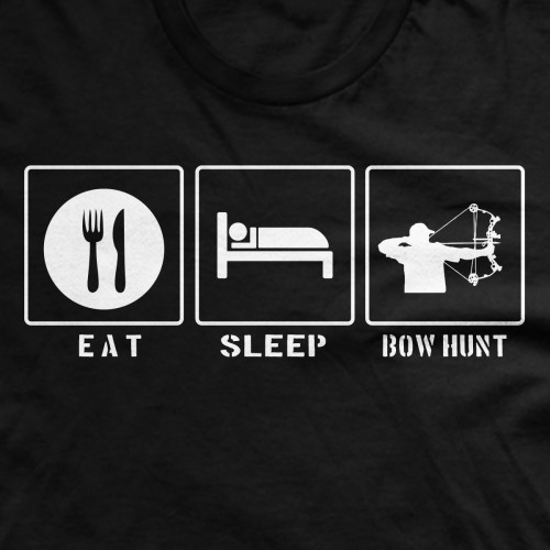 Eat Sleep Bow Hunt Shirt