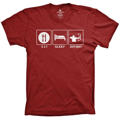Eat Sleep Bow Hunt Shirt