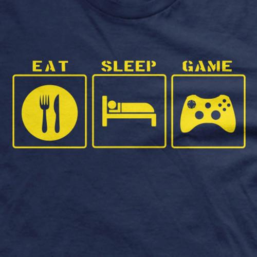 Youth Eat Sleep Game