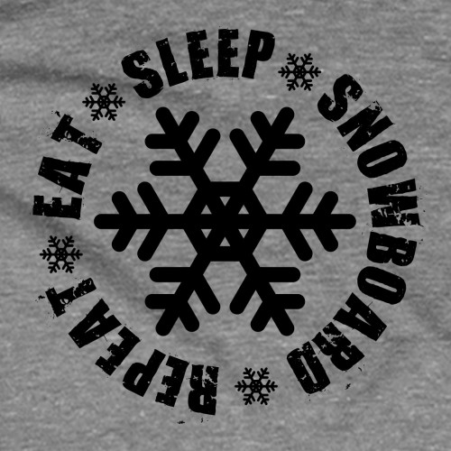 Youth Eat Sleep Snowboard