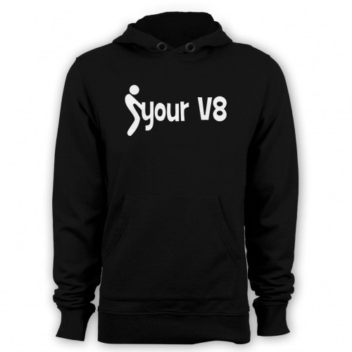F your V8 hoodies