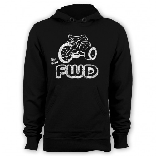 My First FWD hoodie