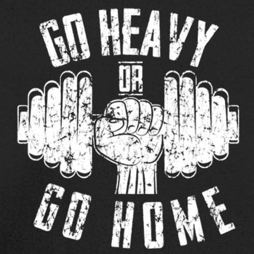 Go Heavy Hoodie