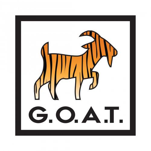 G.O.A.T. Tiger Sticker