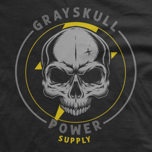 Gray Skull Power Supply