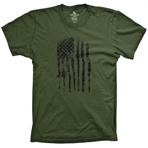 American Flag of Rifles