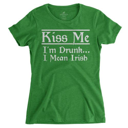 Womens I Mean Irish