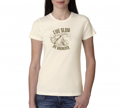 Lady's Sloth Live Slow