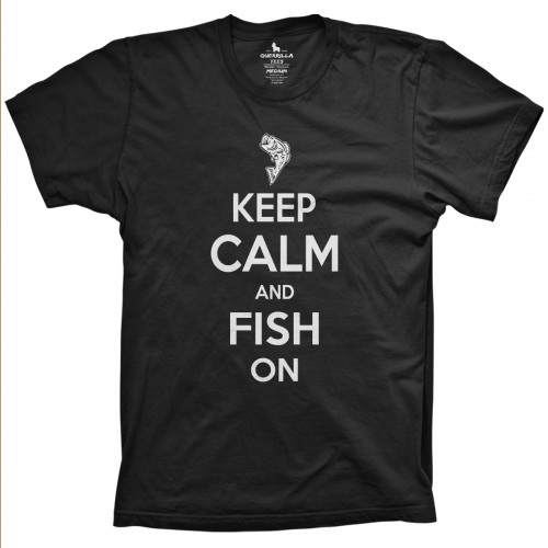 Keep Calm Fish On