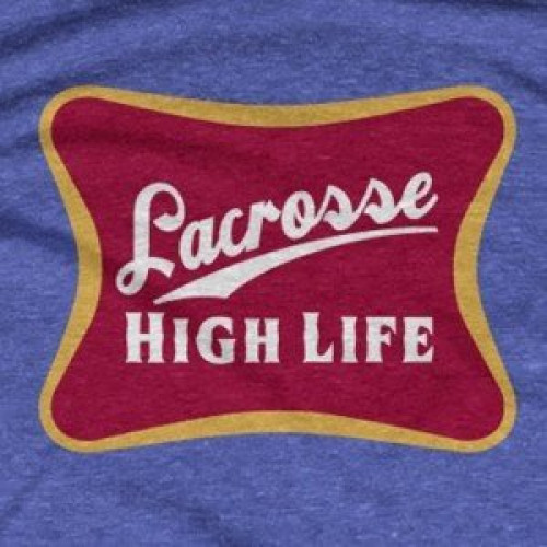 Lacrosse High Life Miller Beer