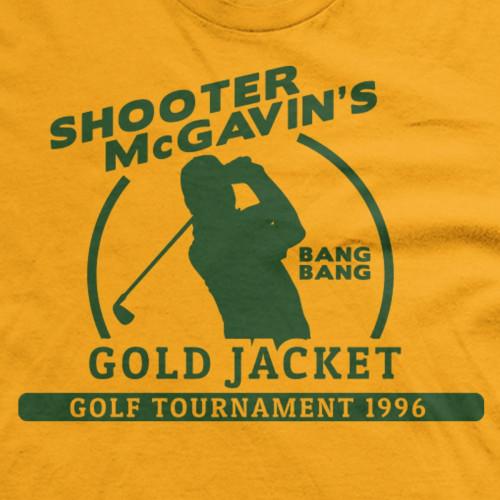 Shooter Mcgavin's Gold Jacket