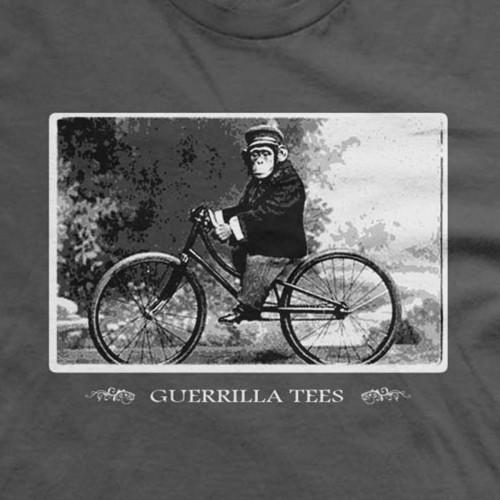 Monkey on A Bike