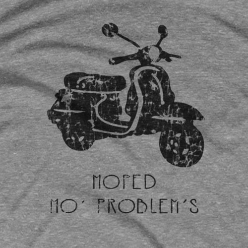 Moped Mo Problems T-Shirt