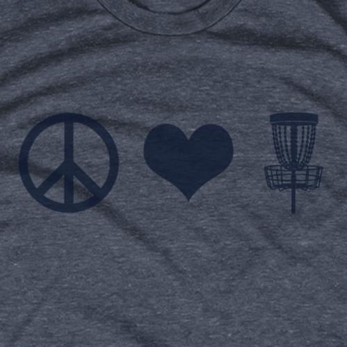 Peace Love Disc Golf
