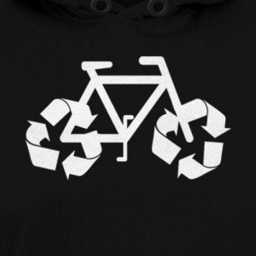 Recycle Bicycle Hoodie