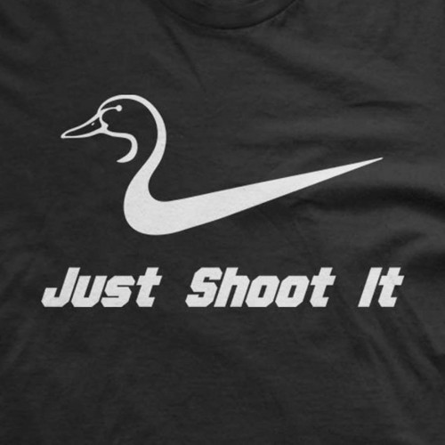 Just Shoot It Duck T-Shirt