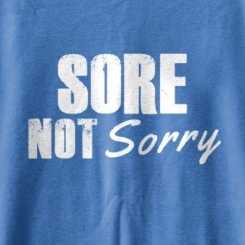 Sore Not Sorry Tank