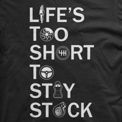 Life's too Short to Stay Stock
