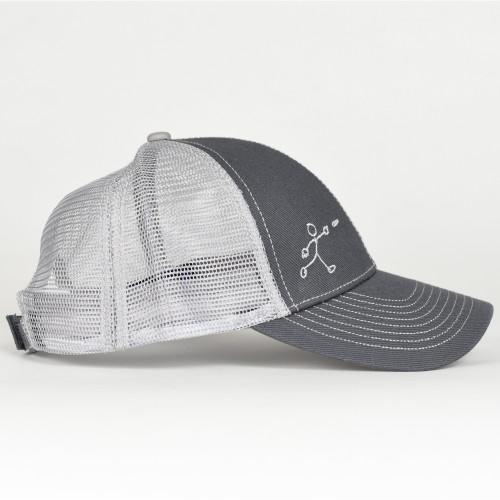 Stick Man Disc Golf hat