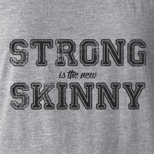 Strong is New Skinny Tank