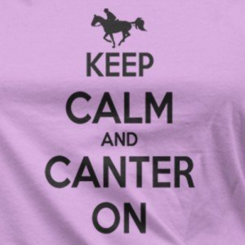 Lady's Canter On