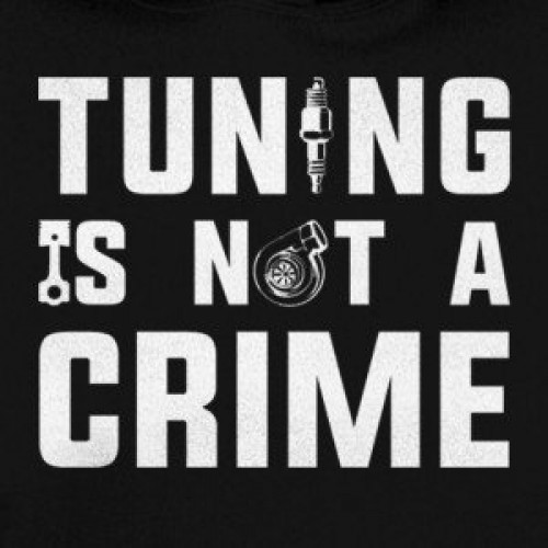 Tuning is not a crime hoodie