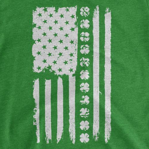 Womens Irish Flag