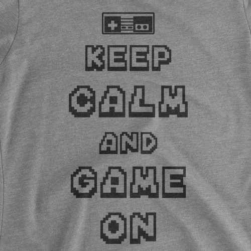Womens Keep Calm Game On