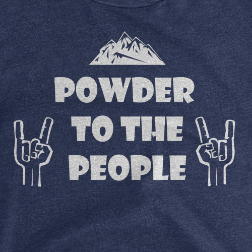 Womens Powder to the People