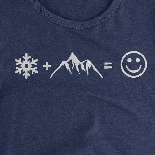 Womens Snow Happy