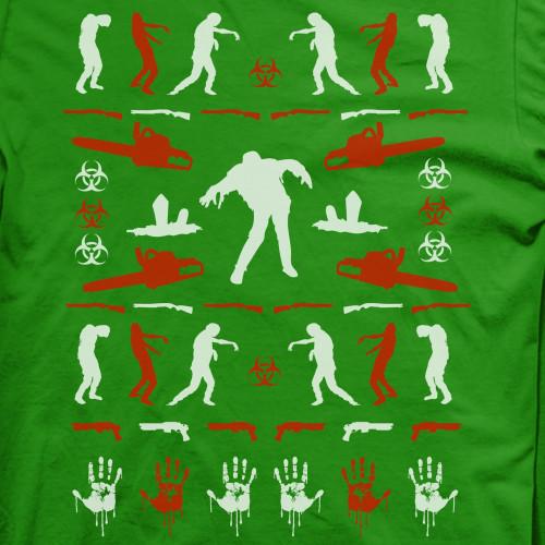 Ugly Zombie Christmas