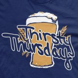 Thirsty Thursday College Drinking Tshirt