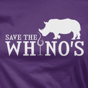 Save the Whinos t-shirt