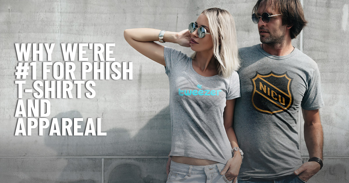 Why Guerrilla Tees is the Best Place to Buy Phish Shirts