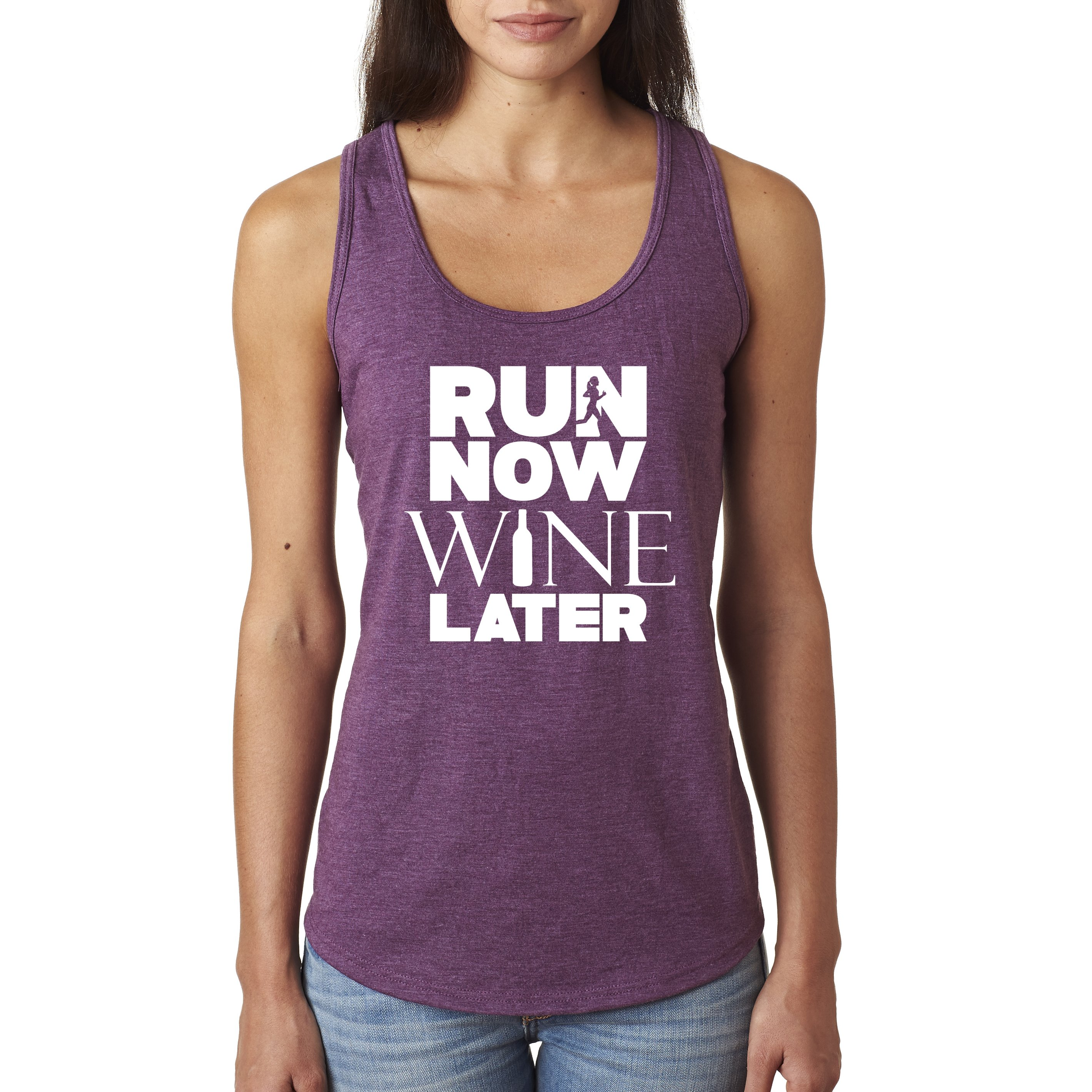 Run Now Wine Later Tank